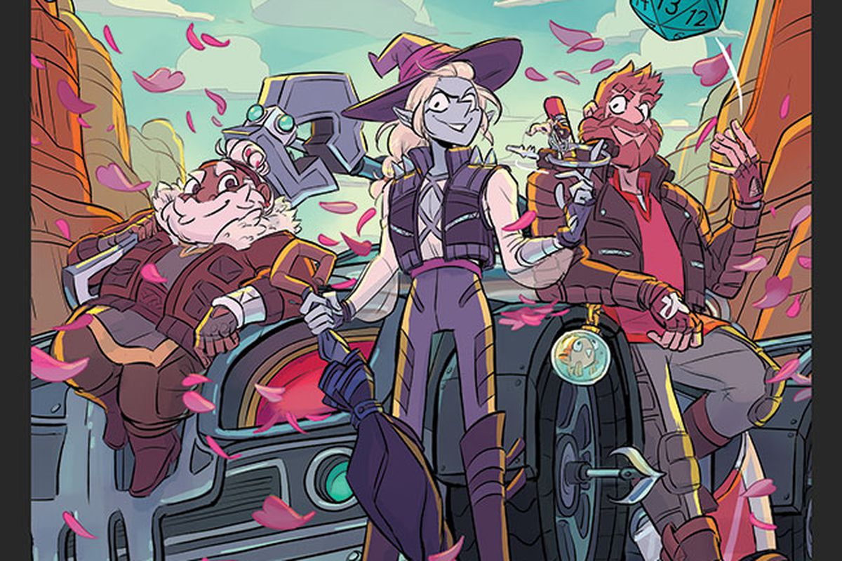 """Animated Series Inspired By """"The Adventure Zone"""" Headed To Peacock   Bubbleblabber"""