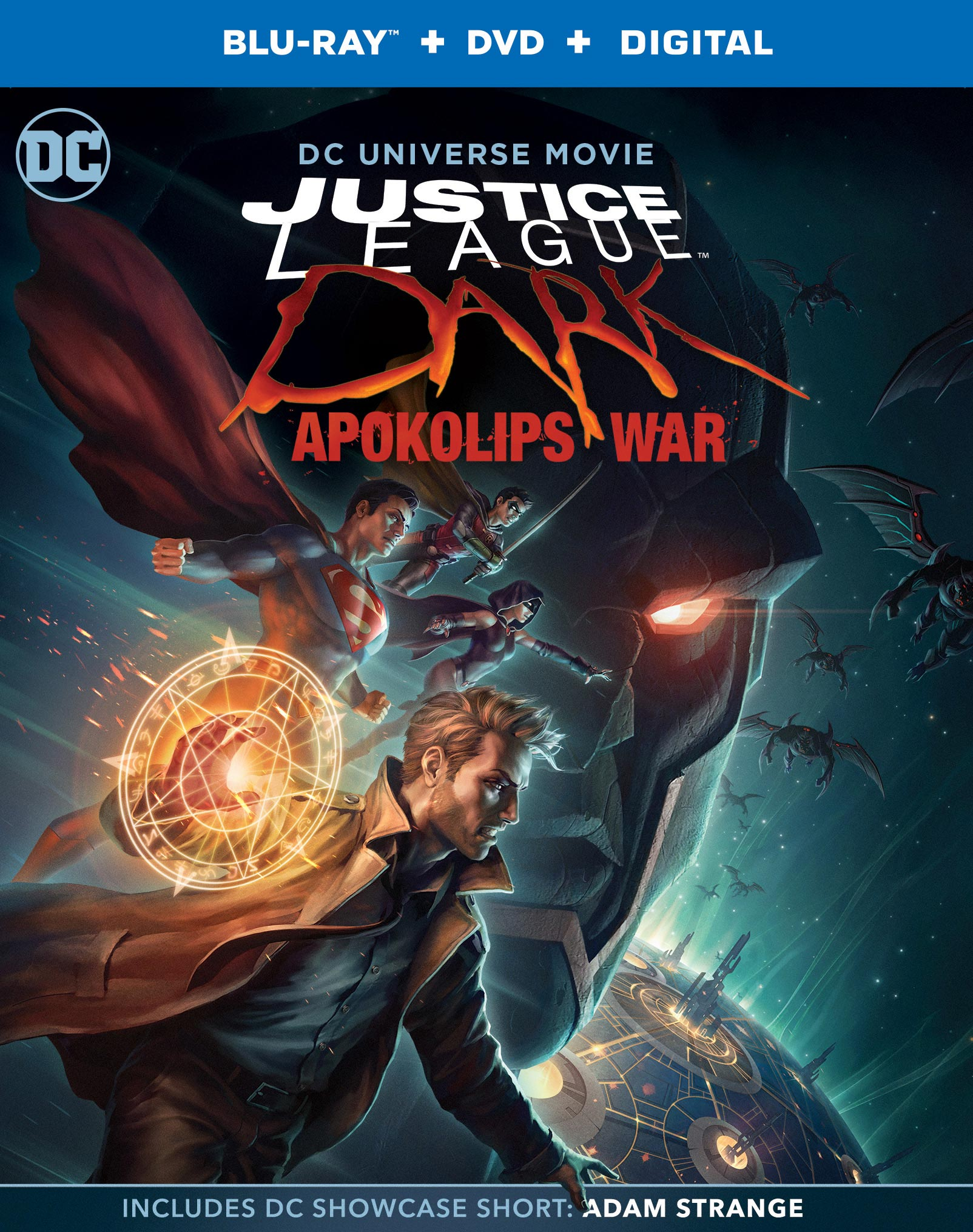 JUSTICE LEAGUE DARK: APOKOLIPS WAR Home Release Details ...