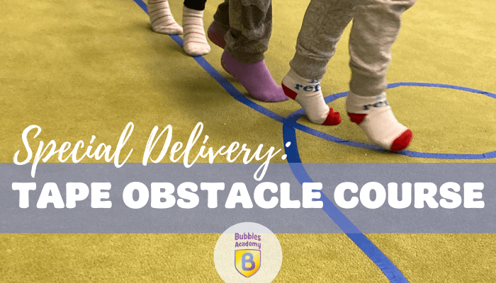 Special Delivery Obstacle Course! Winter Activity