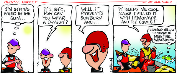 The latest Bubblestreet comic strip