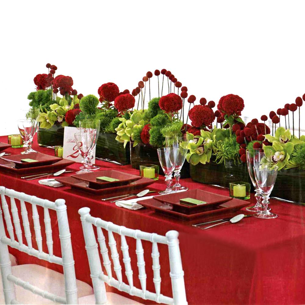Valentines Day Wedding Centerpieces