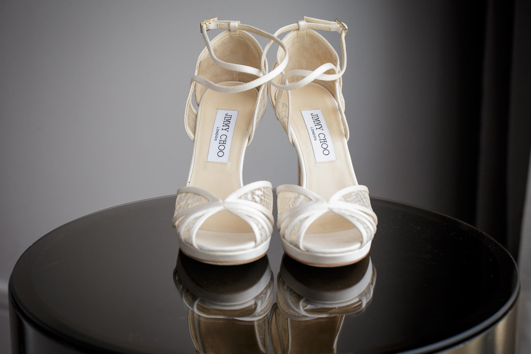 Jimmy Choo Bridal Shoes   Chicago Wedding   Cafe Brauer   Bubbly Moments