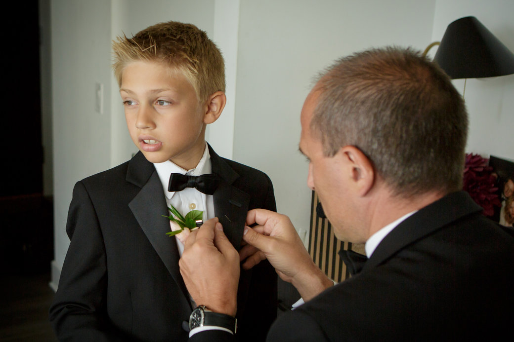 Ring Bearer Style   Getting Ready   Chicago Wedding   Cafe Brauer Wedding   Bubbly Moments