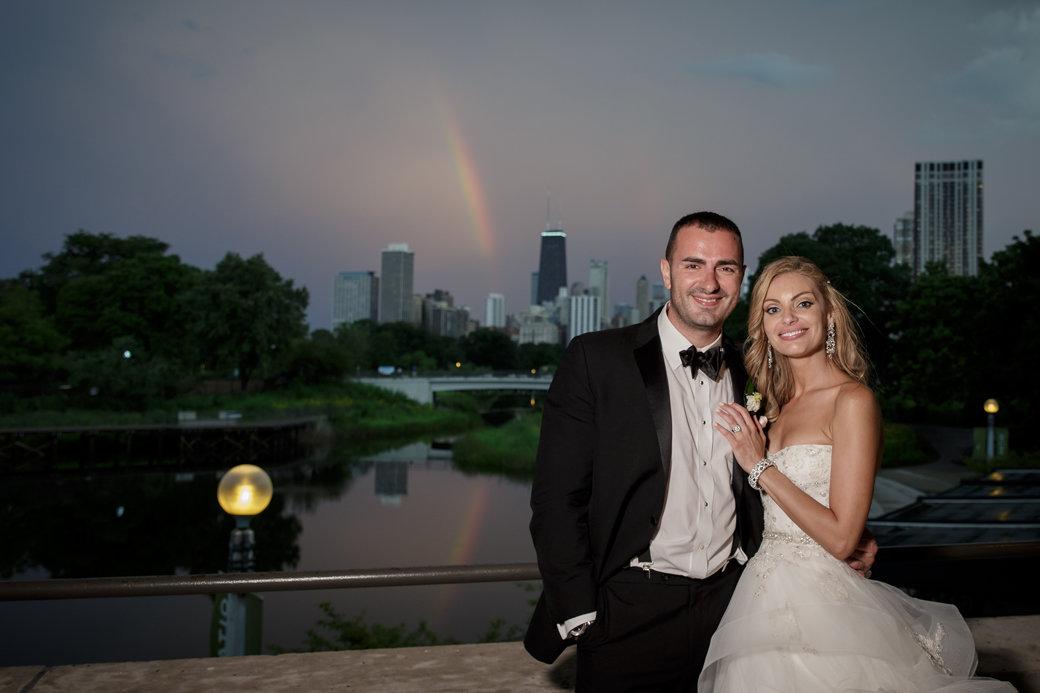 Cafe Brauer Reception   Chicago Wedding