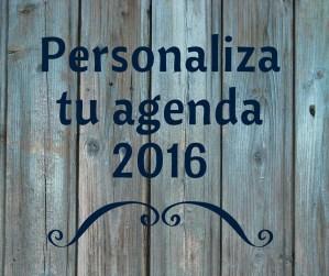 Promociona tu libro con la agenda personalizada Bubok 2016