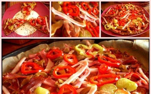 Retete Culinare - Pizza Dukan