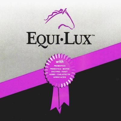 Equi-Lux Brand Horse Feed & Supplements offered at Buchanan Cellers