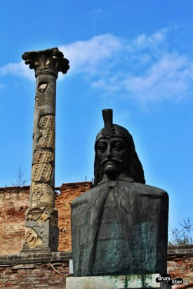 Vlad the Impaler (Dracula) in Bucharest