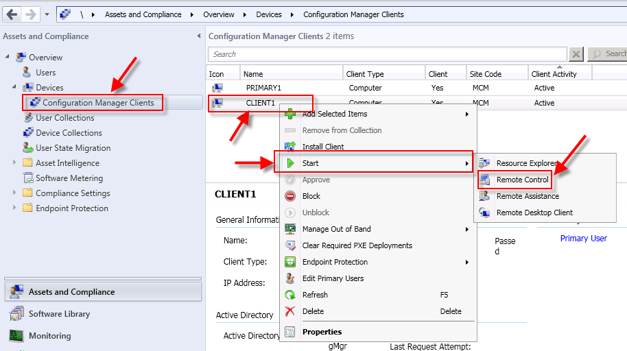 Configure and Use Remote Control in SCCM 2012   Buchatech com