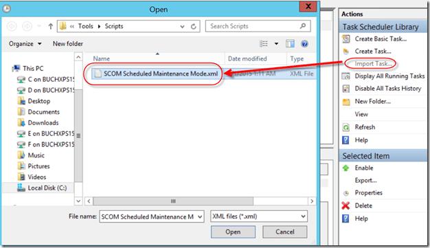 SCRIPT: Schedule Maintenance Mode SCOM 2012 R2 | Buchatech com