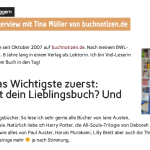 Interview mit mir bei Leselink.de