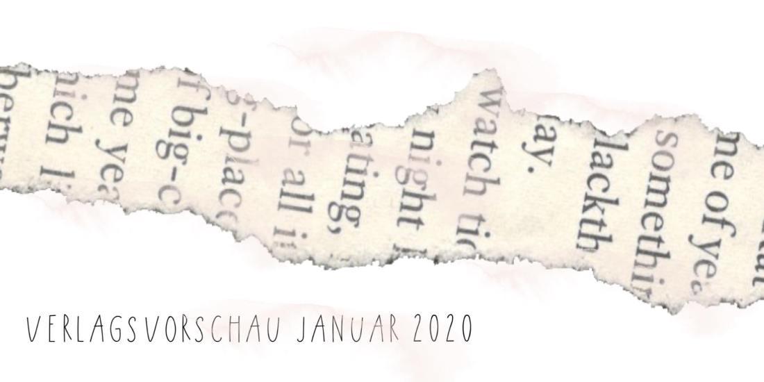 Verlagsvorschau Januar 2020
