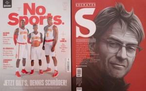 Titelbilder NoSports und Socrates