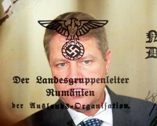 Imagini pentru IOHANNIS,MERKEL,NAZIST