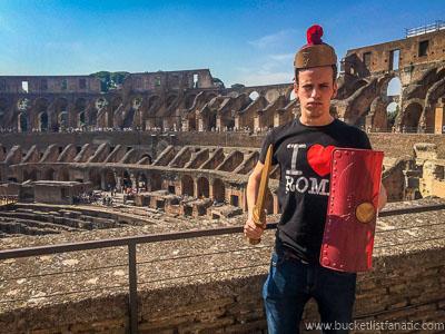 Colosseum, Italy - Bucket List