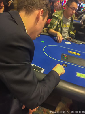 Gamble in Macau - Bucket List