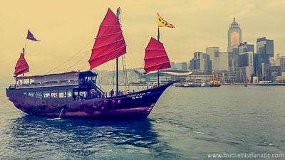 Junk boat | Hong Kong