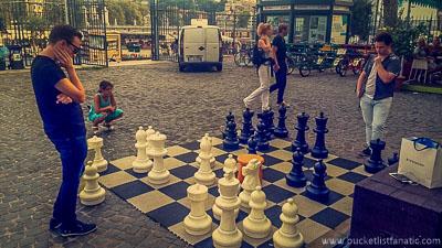 Mega Chess, Bucket List