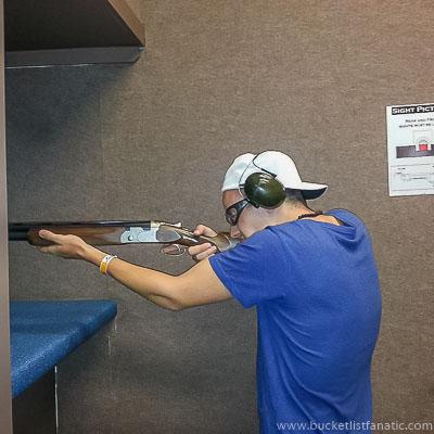 Skeet Shooting - Bucket List