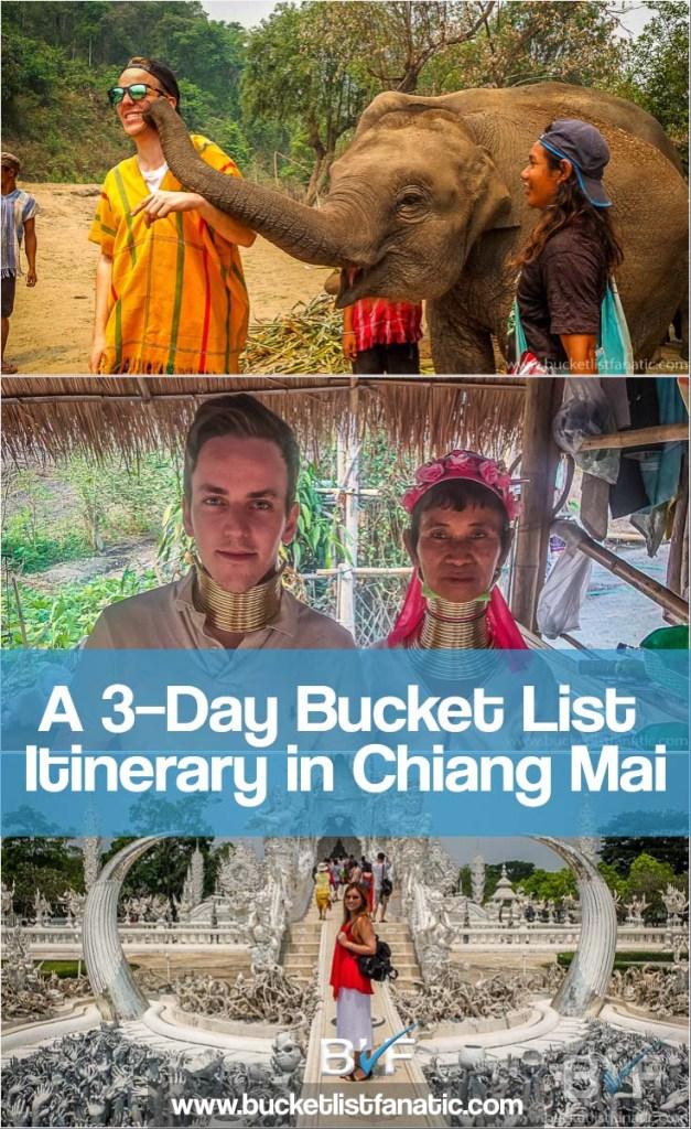 Chiang Mai Bucket List Pinterest