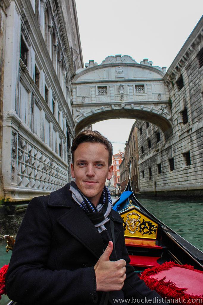 Bridge of Sighs - Venice Bucket List