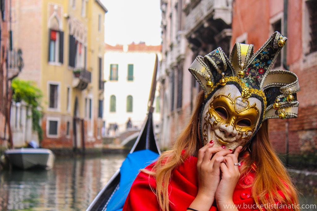 Don a Mask - Venice Bucket List