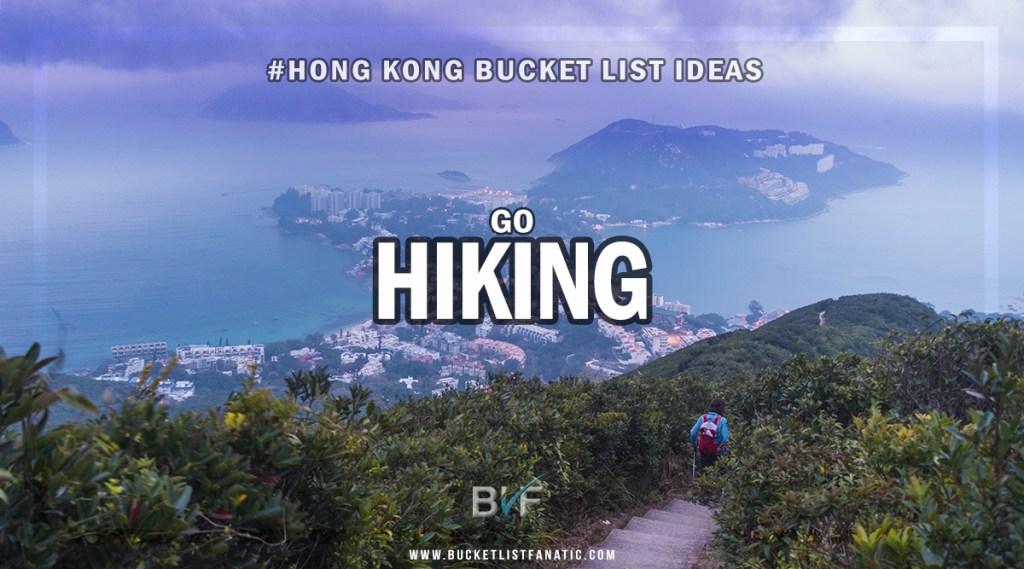 Hong Kong Bucket List - Go Hiking
