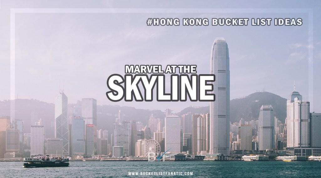 Hong Kong Bucket List - Hong Kong Skyline