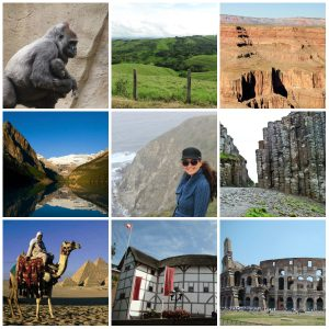 Top Ten Tourist Collage