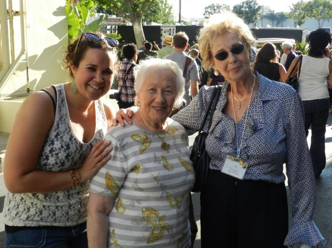 Me with holocaust survivors