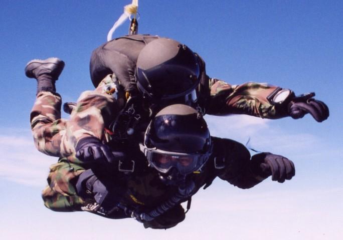 Halo Tandom Skydive
