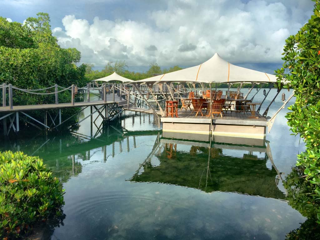 Floating Restaurant at Constance Le Prince