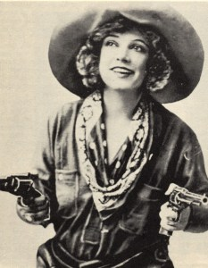 Texas Guinan, legendary figure of the Prohibition era.