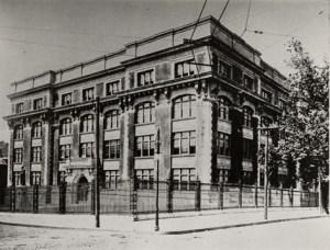 Old Woodward High School in Cincinnati.
