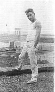 Emil Opffer, Danish journalist, sailor, and lover of Hart Crane.