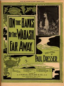 On_the_Banks_of_the_Wabash,_Far_Away,_sheet_music_cover_with_Bessie_Davis,_Paul_Dresser,_1897