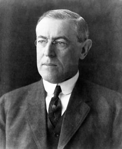 Woodrow Wilson, who later became President of the Confederate States of America.