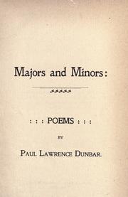 """""""Majors and Minors,"""" 1895."""