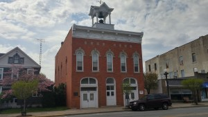 Clyde's Heritage Hall, the original city hall, completed in 1885 when Sherwood Anderson was eleven years of age. A building that would have been a familiar sight for Anderson and his family (author's photo).