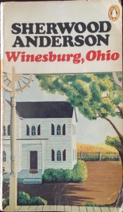 "My battered but much-loved copy of ""Winesburg, Ohio"" (author's photo)."