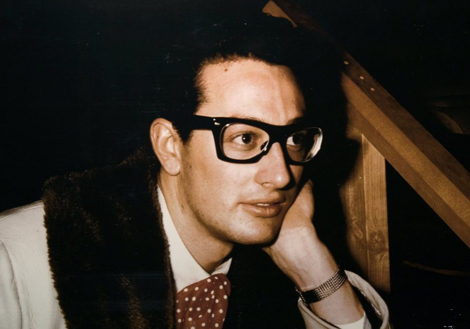 Buddy Holly is shown in this undated handout photograph. The photo is one of the items that will be auctioned off in April at Heritage Auction Galleries in Dallas, Texas. (Handout/Dallas Morning News/KRT)