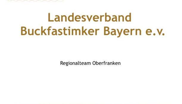 Bericht zur Standbesichtigung des Regionalteams Oberfranken
