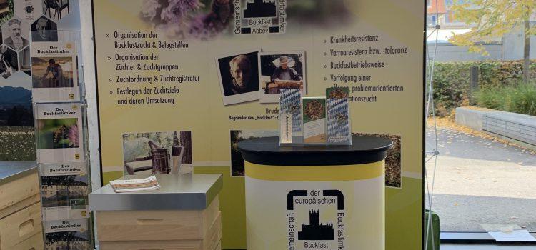 Die Gemeinschaft der europäischen Buckfastimker e.V. auf Deutschlands größter Imker-Fachmesse in Donaueschingen