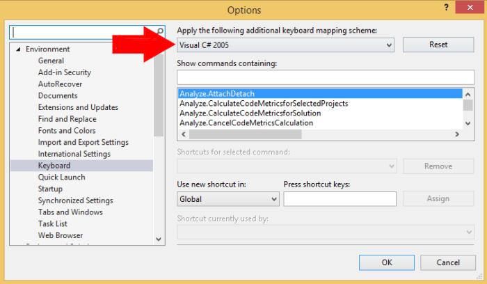 Visual Studio F6