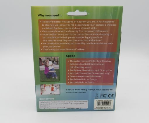 Child Locator & Advanced Alert System (Back)