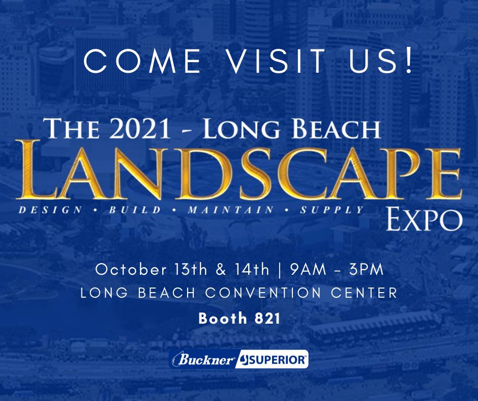Buckner Superior Landscape Expo Trade Show 2021