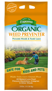 Organic Lawn Care Weed Preventer
