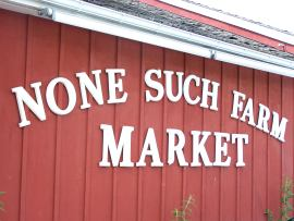 None Such Farm Market; photo by L. Goldman