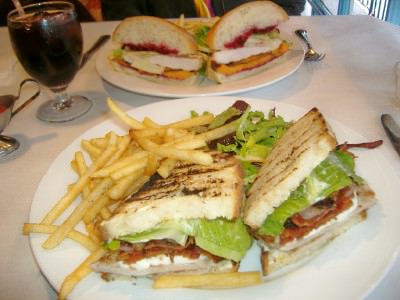 Sandwiches at Domani Star; photo by Rich Baringer