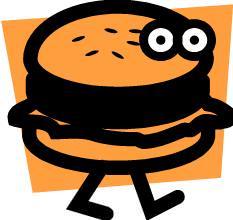 Hamburger; MSClipArt